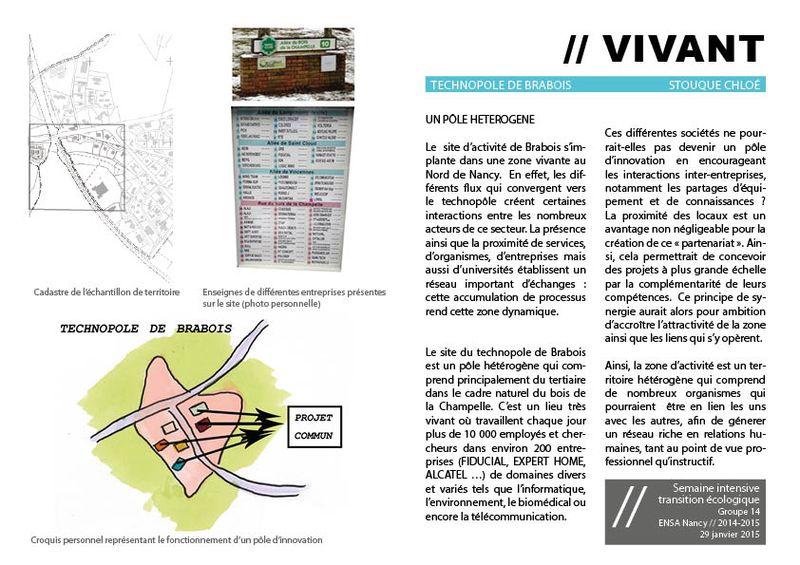 CS vivant pole hétérogene