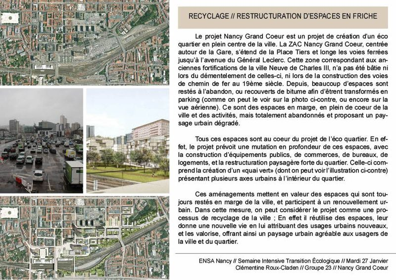 Semaine Intensive - Recyclage