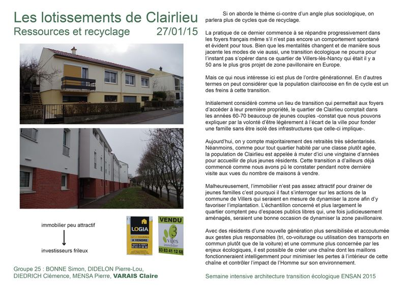 Transition éco recyclage