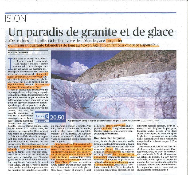 Un paradis de granite et de glace