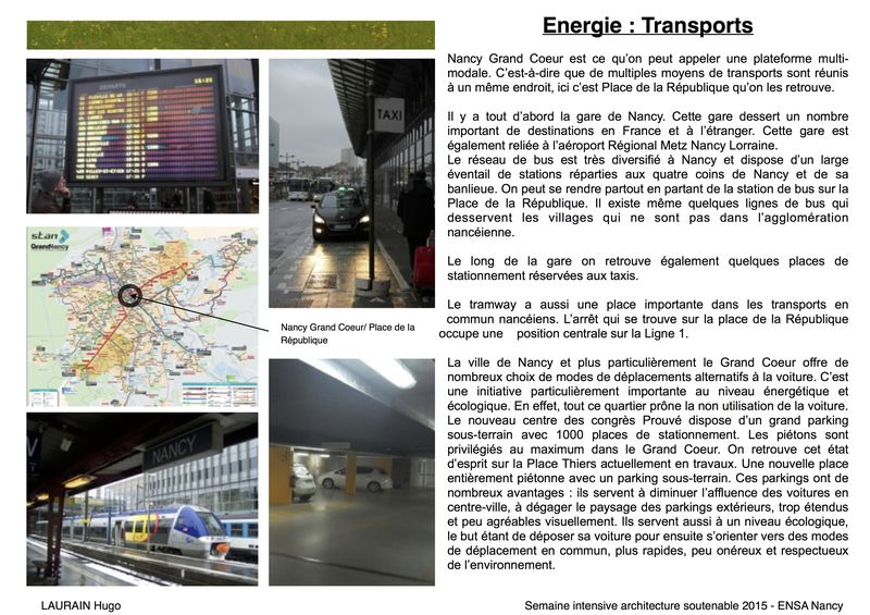 Energie , transport Semaine transition eco